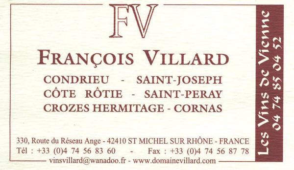 Carte visite F V
